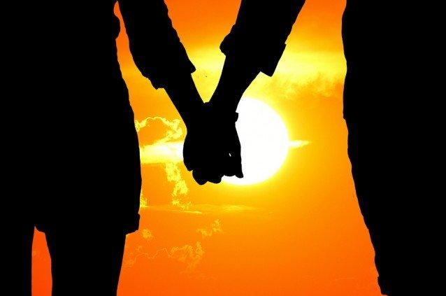 Wahre Partnerschaft - Hand in Hand
